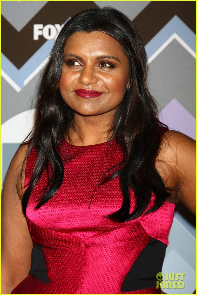mindy kaling zooey deschanel fox tca all star party 202787600