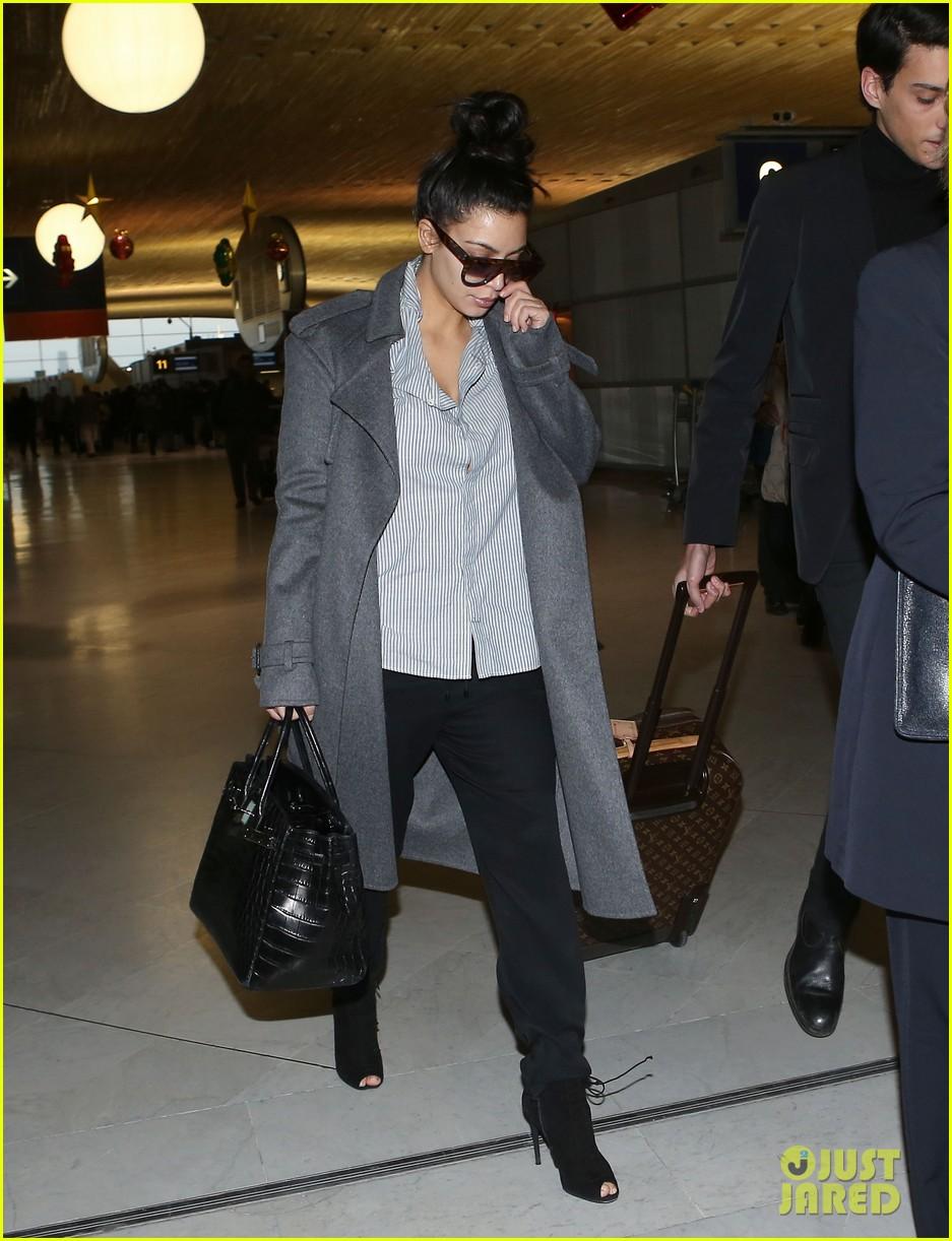 kim kardashian back from paris 082790757