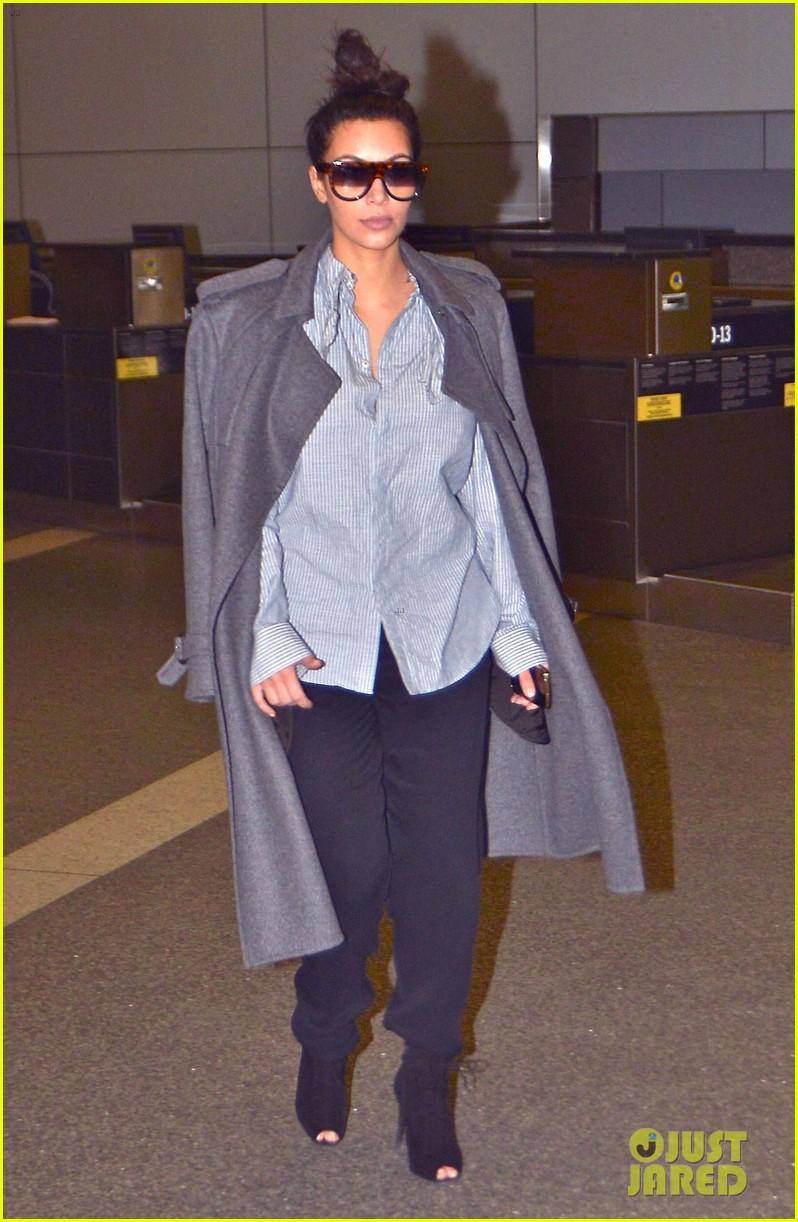 kim kardashian back from paris 152790764