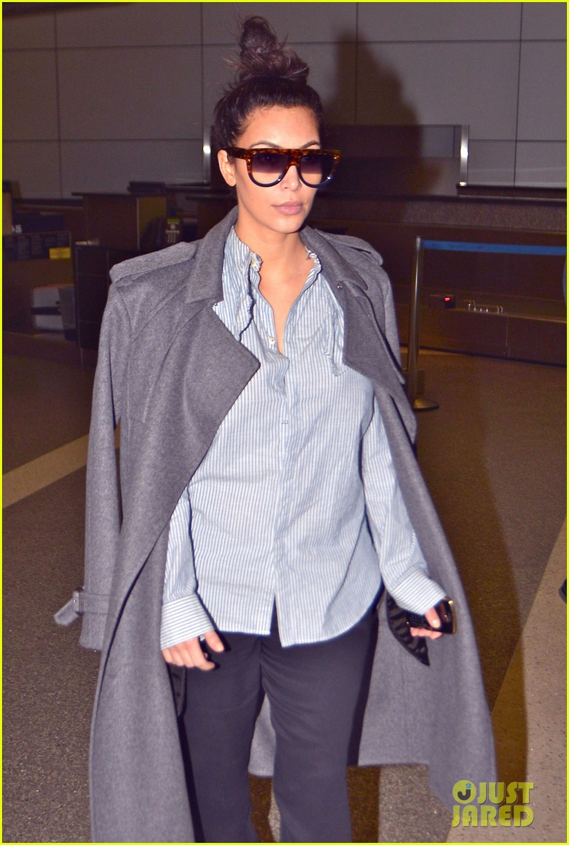 kim kardashian back from paris 162790765