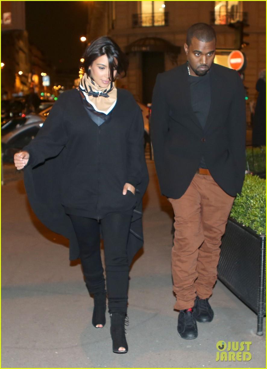 kim kardashian kanye west celine shoppers 02