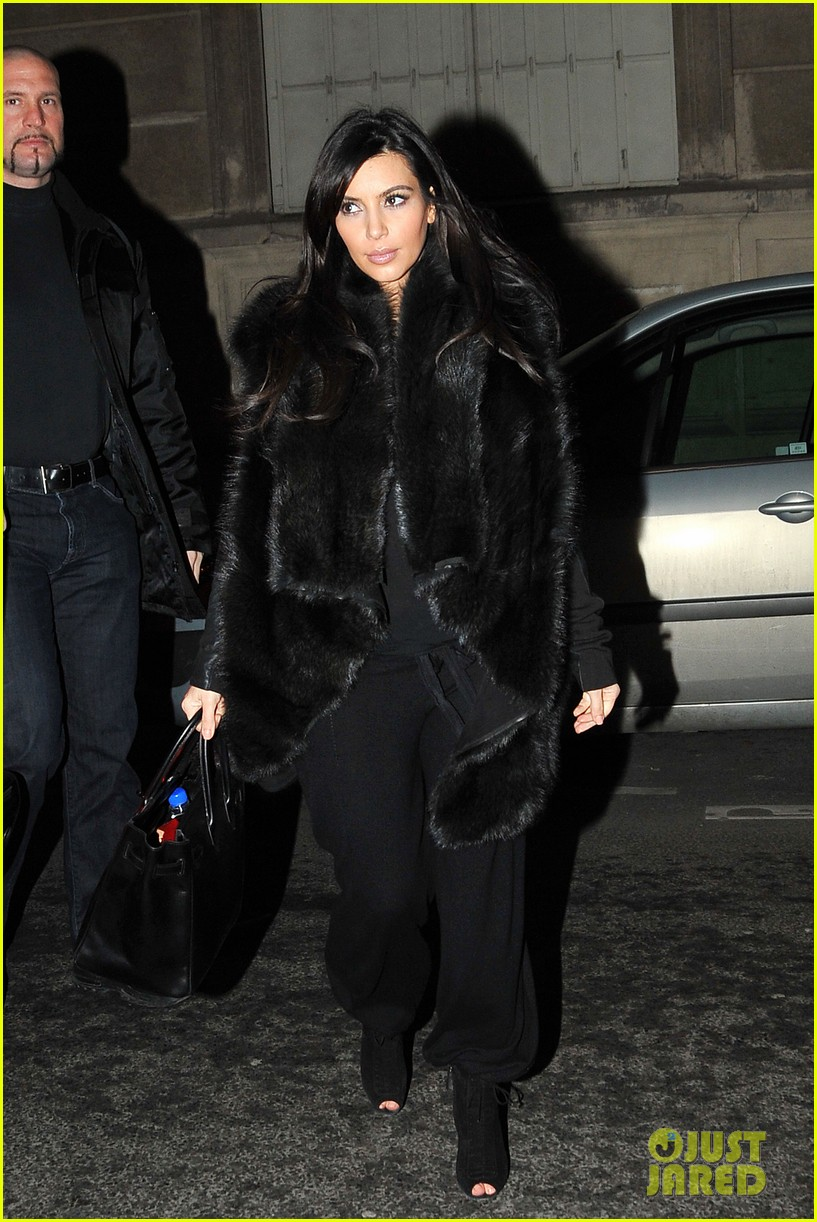 kim kardashian heads to dinner kanye west is super cold 03