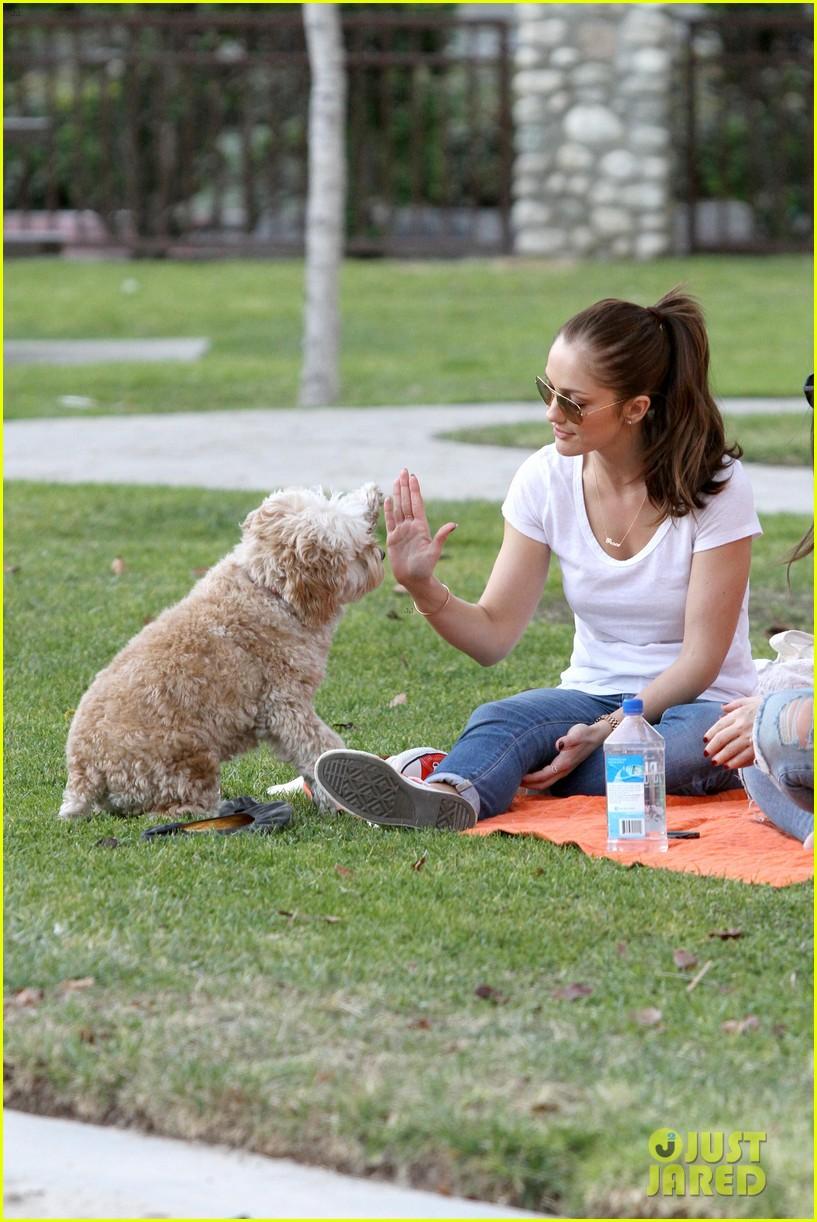 minka kelly dog park fun with chewy 252795957