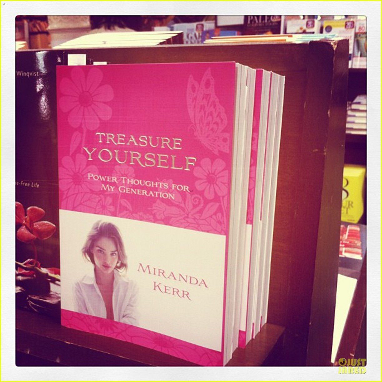 miranda kerr treasure yourself power thoughts for my generation author 052794360