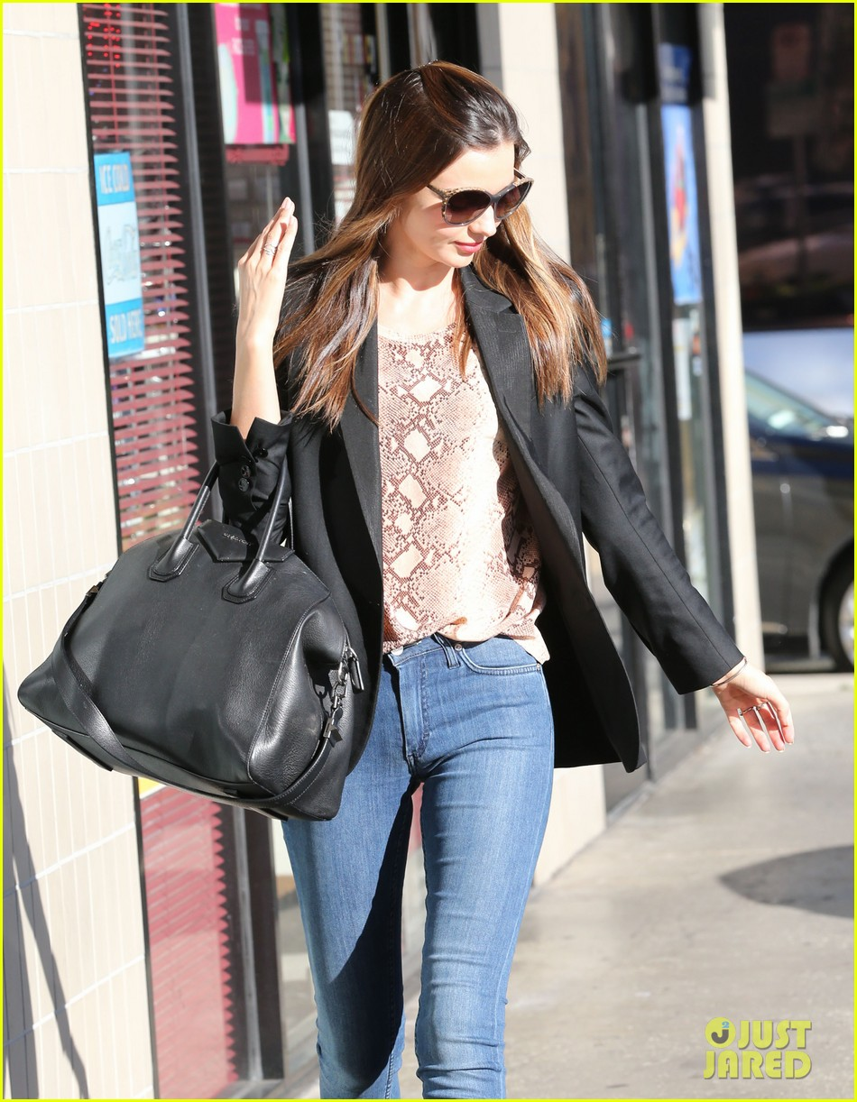 miranda kerr gets pampered orlando bloom goes for a ride 102796300