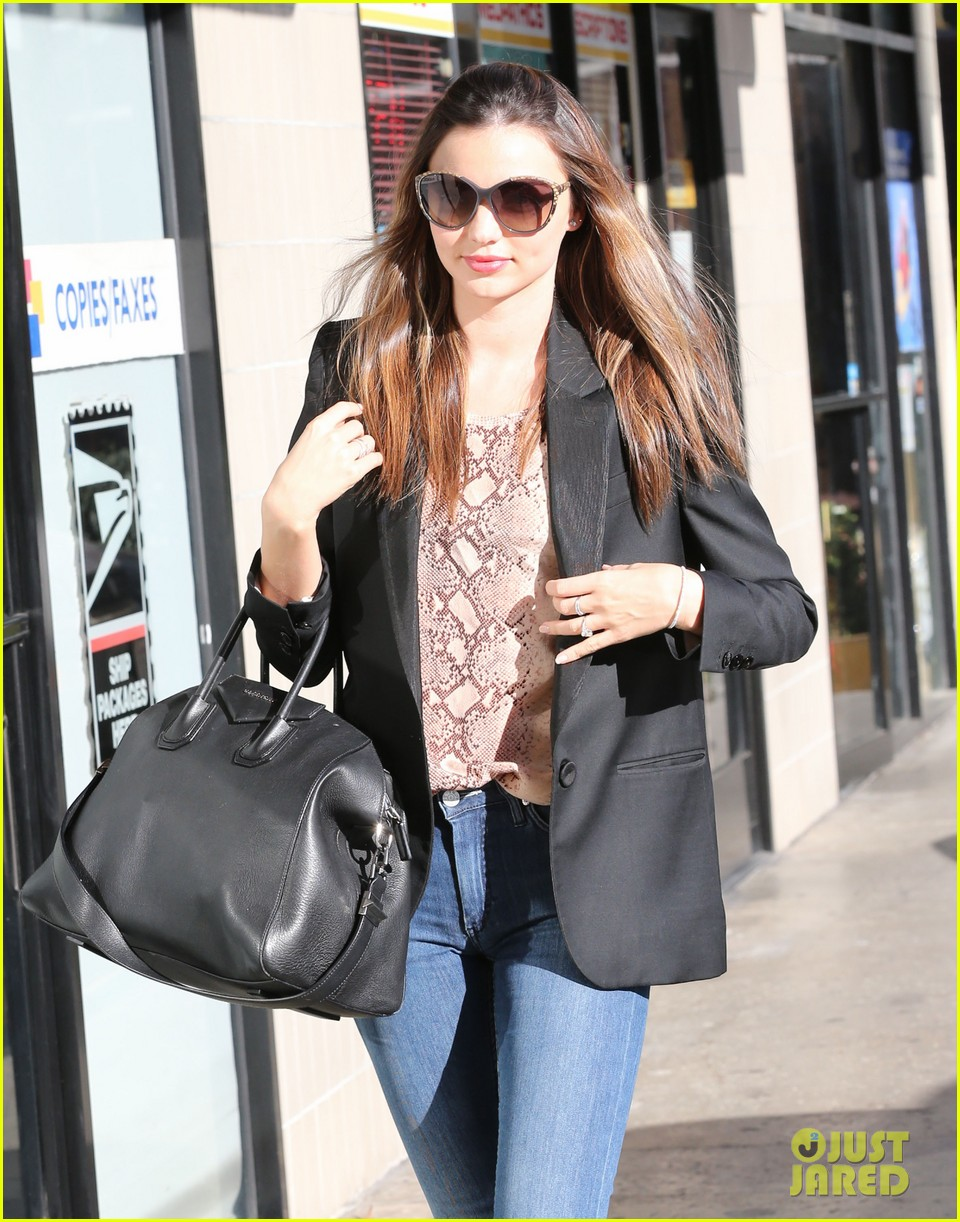 miranda kerr gets pampered orlando bloom goes for a ride 112796301