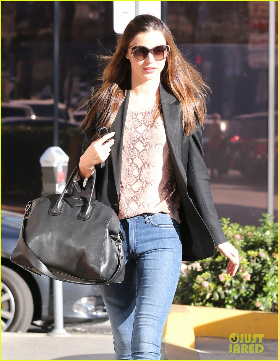 miranda kerr gets pampered orlando bloom goes for a ride 142796304