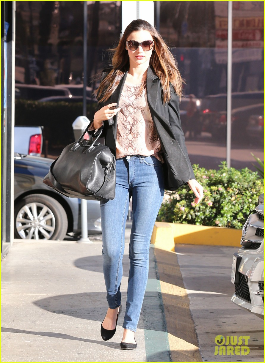 miranda kerr gets pampered orlando bloom goes for a ride 152796305