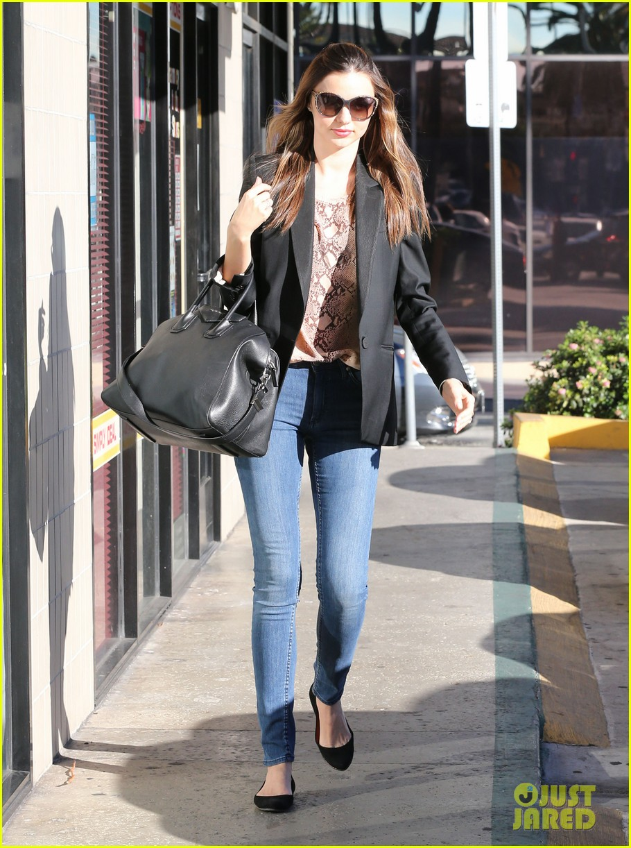 miranda kerr gets pampered orlando bloom goes for a ride 182796308
