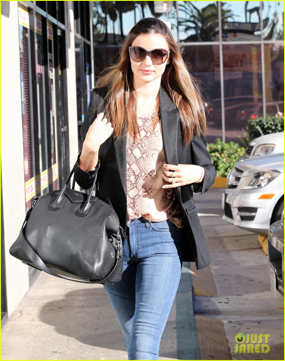 miranda kerr gets pampered orlando bloom goes for a ride 222796312