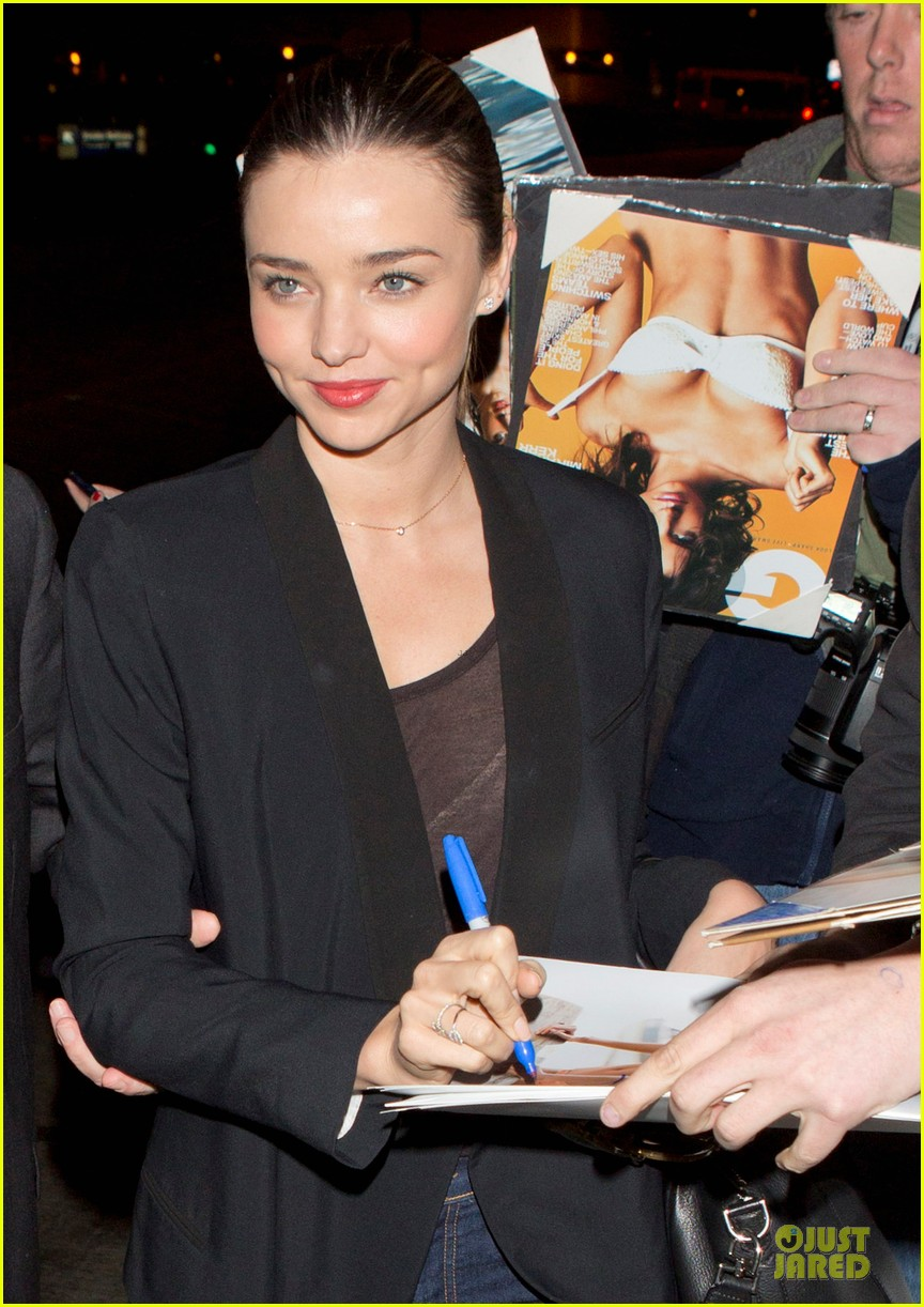 miranda kerr no time like supporter 022794571