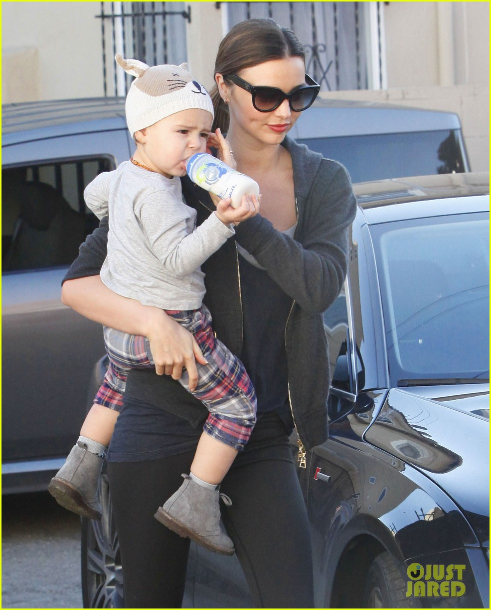 miranda kerr and flynn workout buddies 272790326