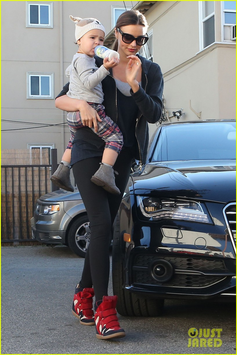miranda kerr and flynn workout buddies 292790328