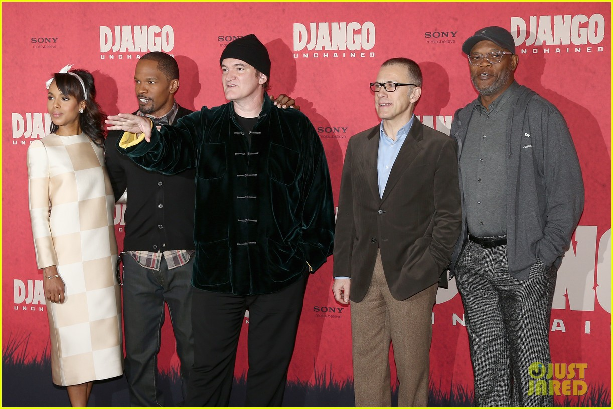 kerry washington jamie foxx django berlin photo call 03