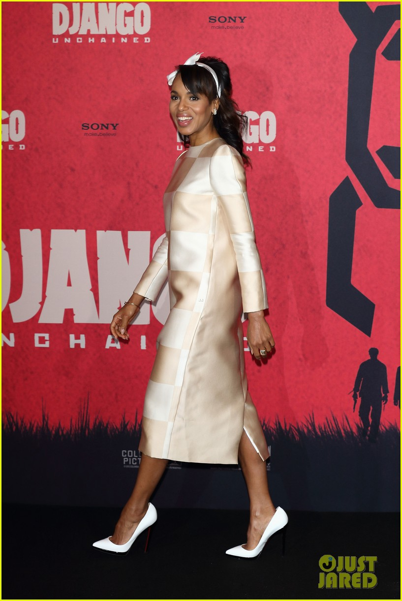 kerry washington jamie foxx django berlin photo call 07