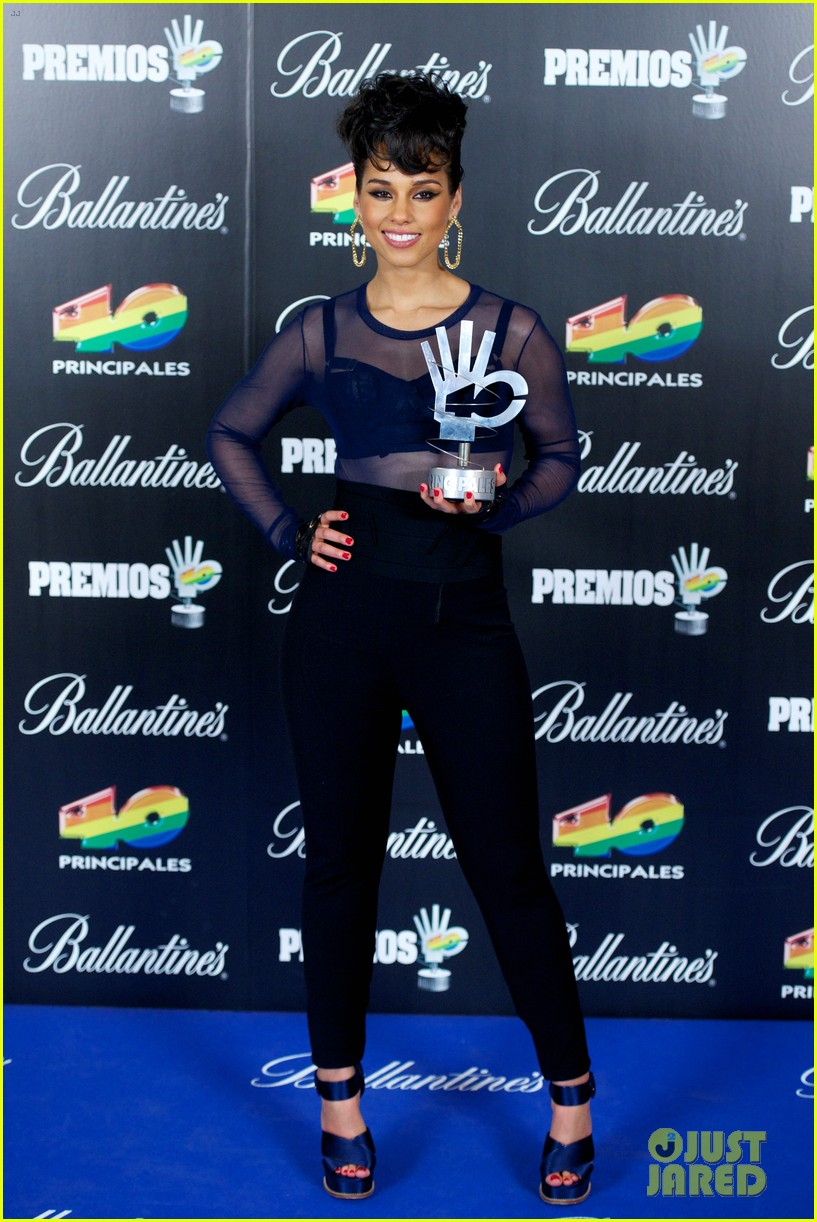 alicia keys 40 principales awards performance watch now 032798261