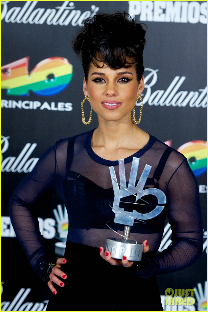 alicia keys 40 principales awards performance watch now 202798278