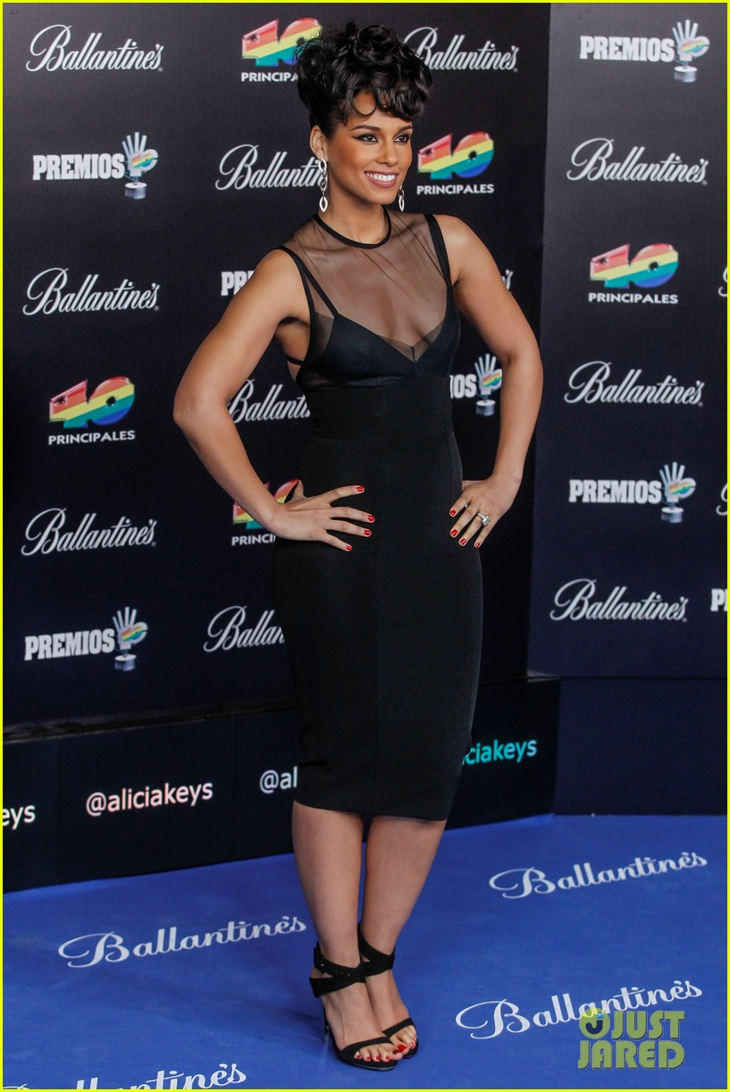 alicia keys 40 principales awards performance watch now 232798281