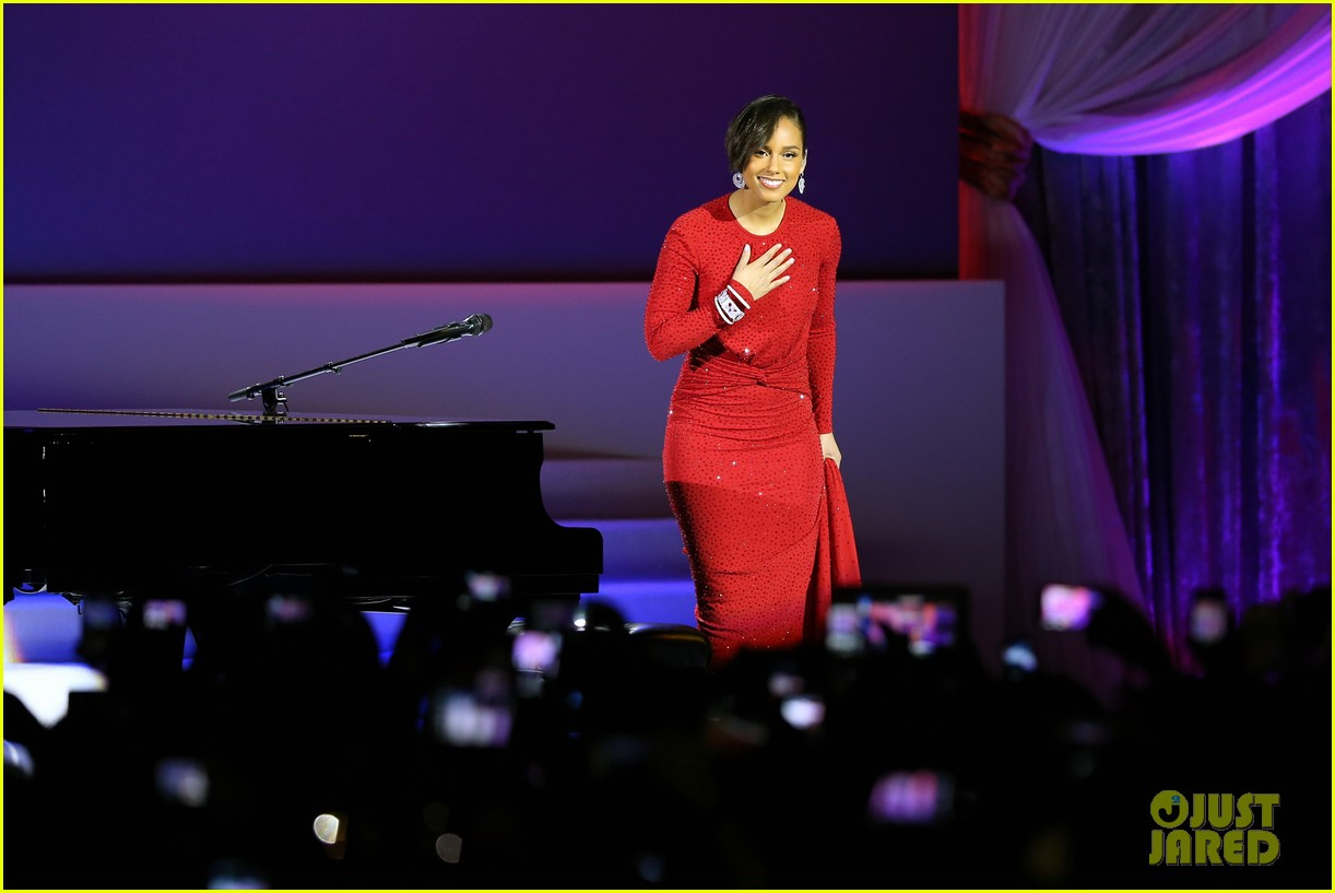 alicia keys inaugural ball performance 09