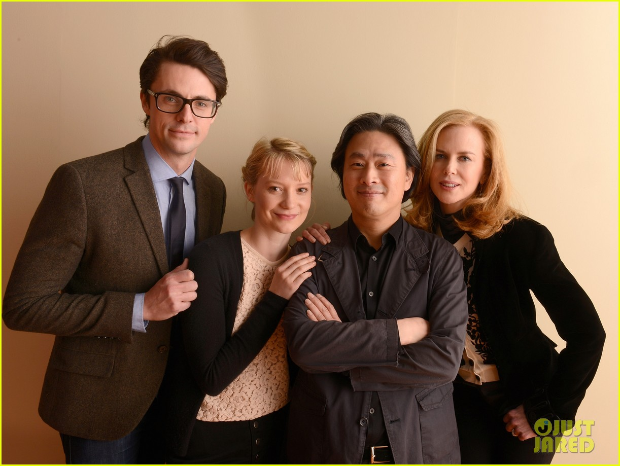 nicole kidman mia wasikowska stoker sundance portraits 03