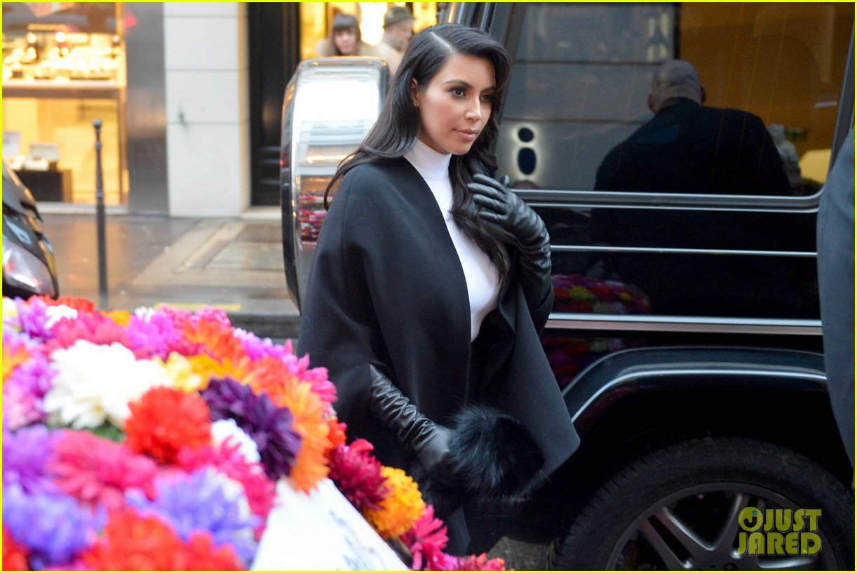 kim kardashian kanye west perfect night in paris 032797407
