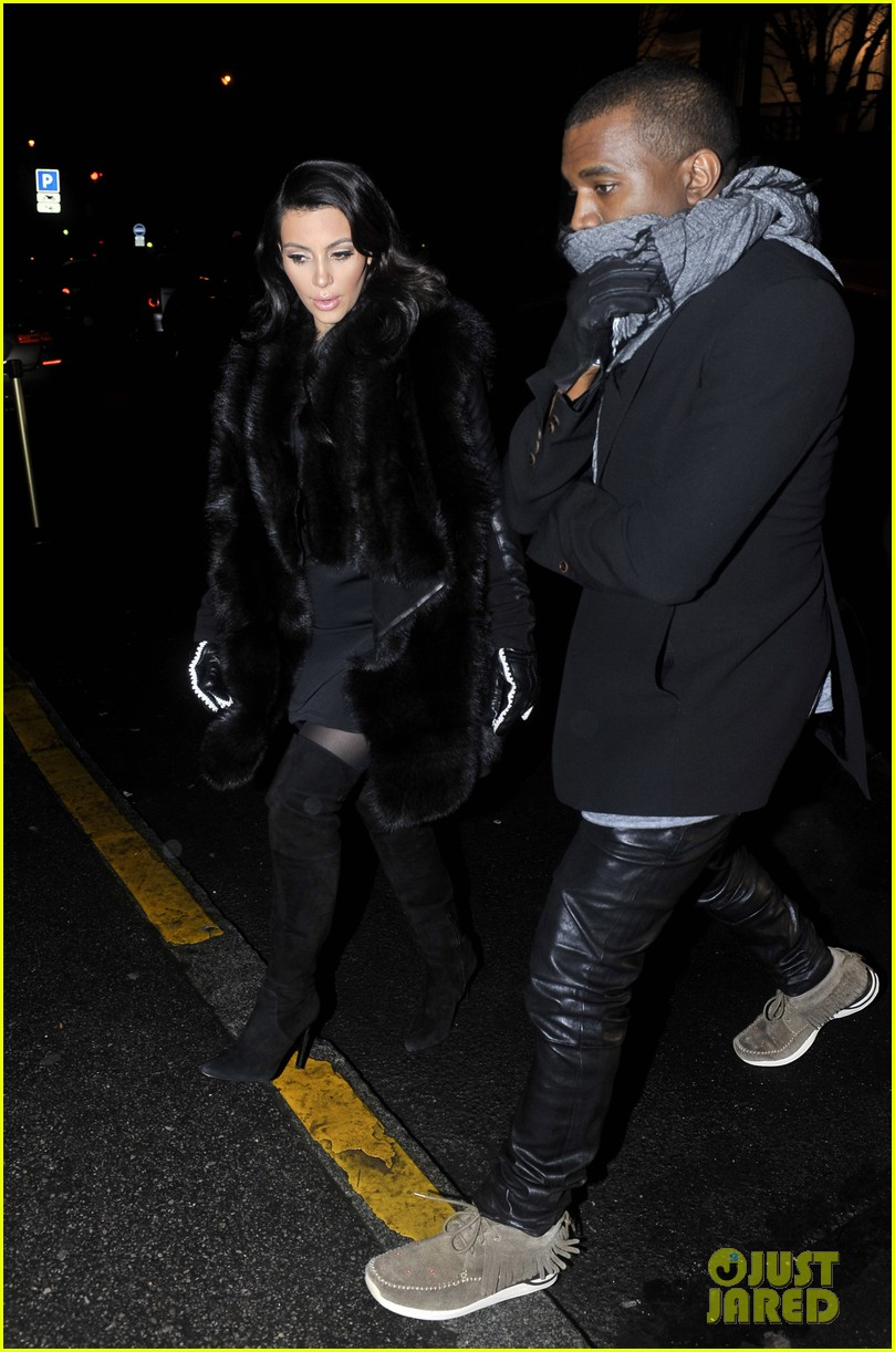 kim kardashian kanye west perfect night in paris 042797408
