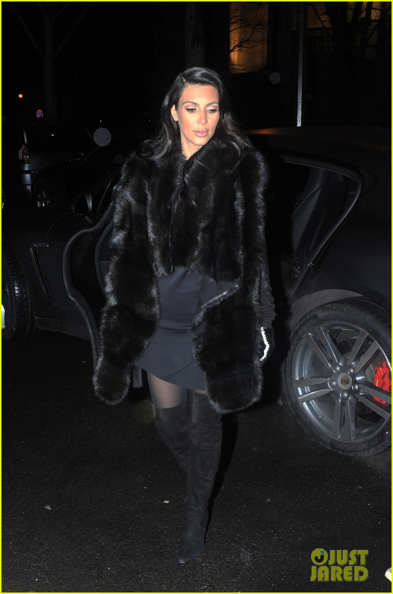 kim kardashian kanye west perfect night in paris 12