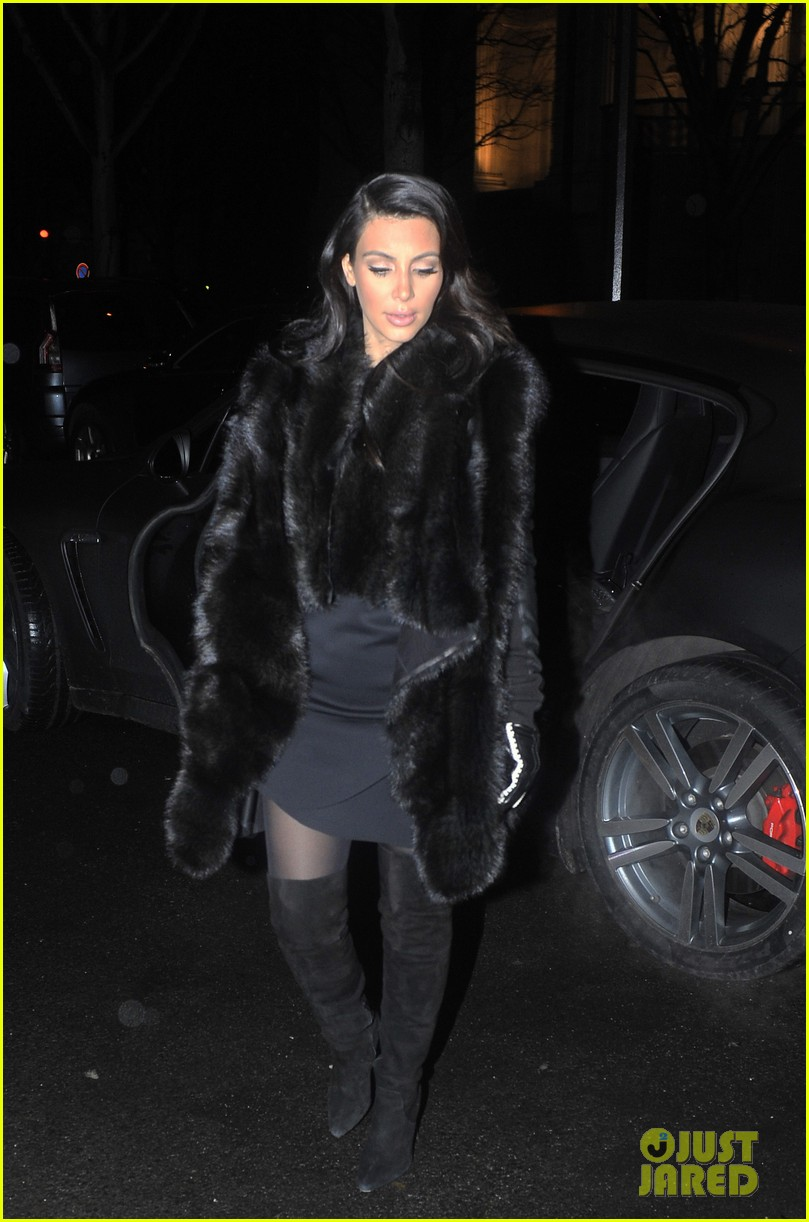 kim kardashian kanye west perfect night in paris 13