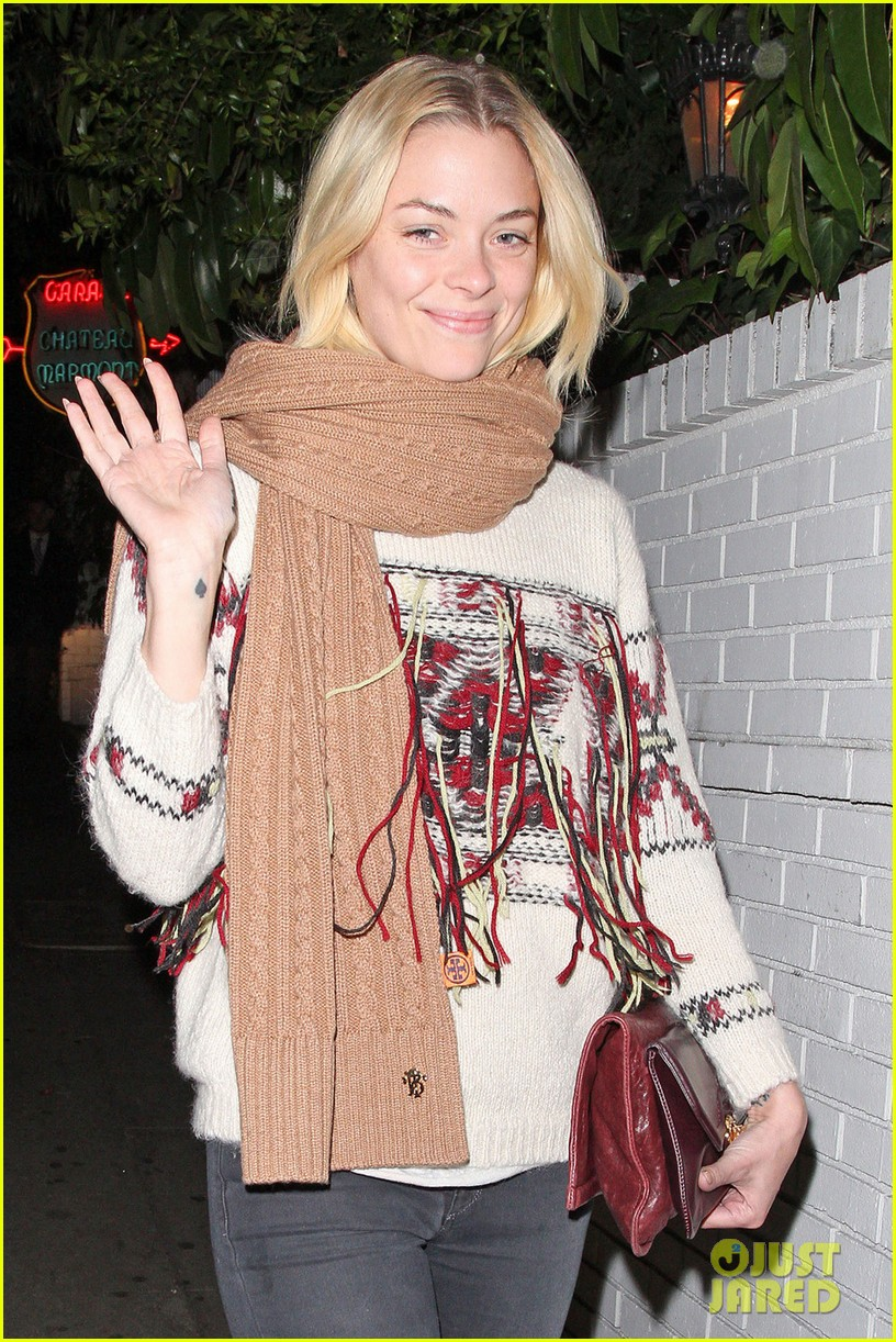 jaime king chateau marmont with kyle newman 022786186