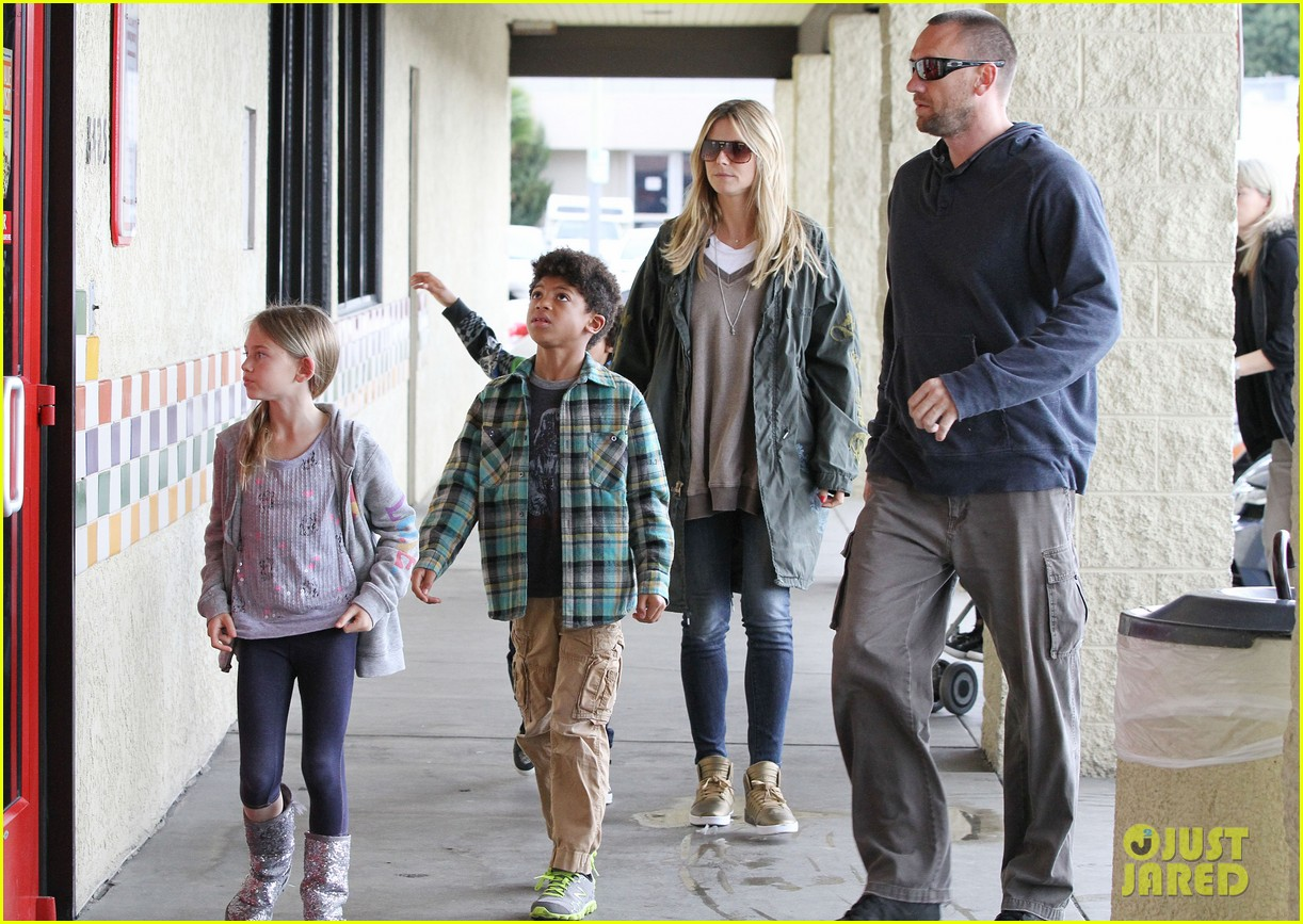 heidi klum martin kirsten family day with the kids 052800304