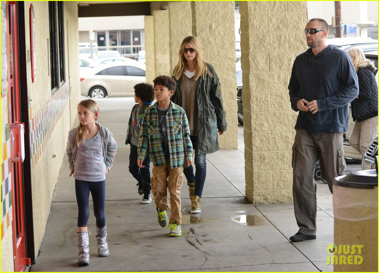 heidi klum martin kirsten family day with the kids 182800317