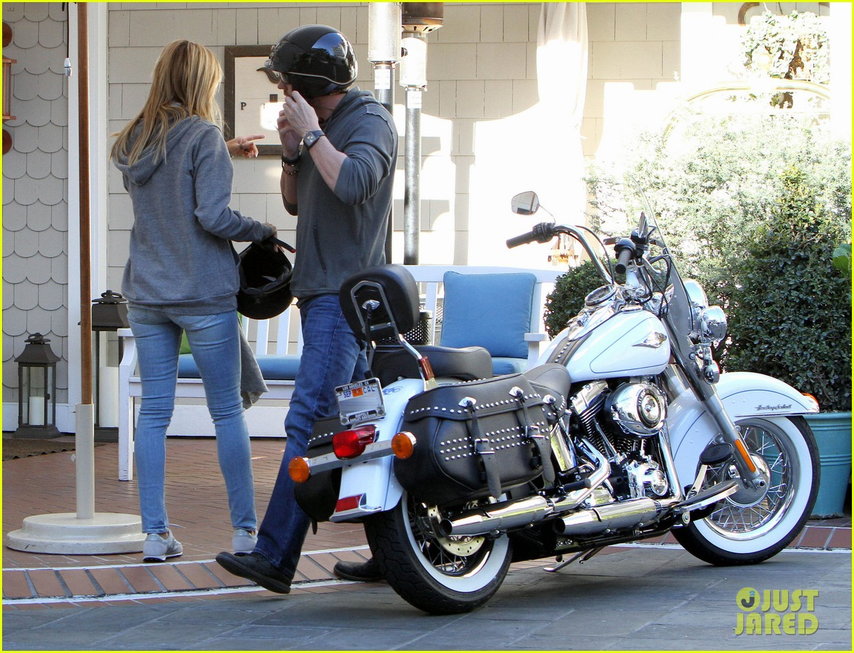 heidi klum martin kirsten motorcycle couple 07