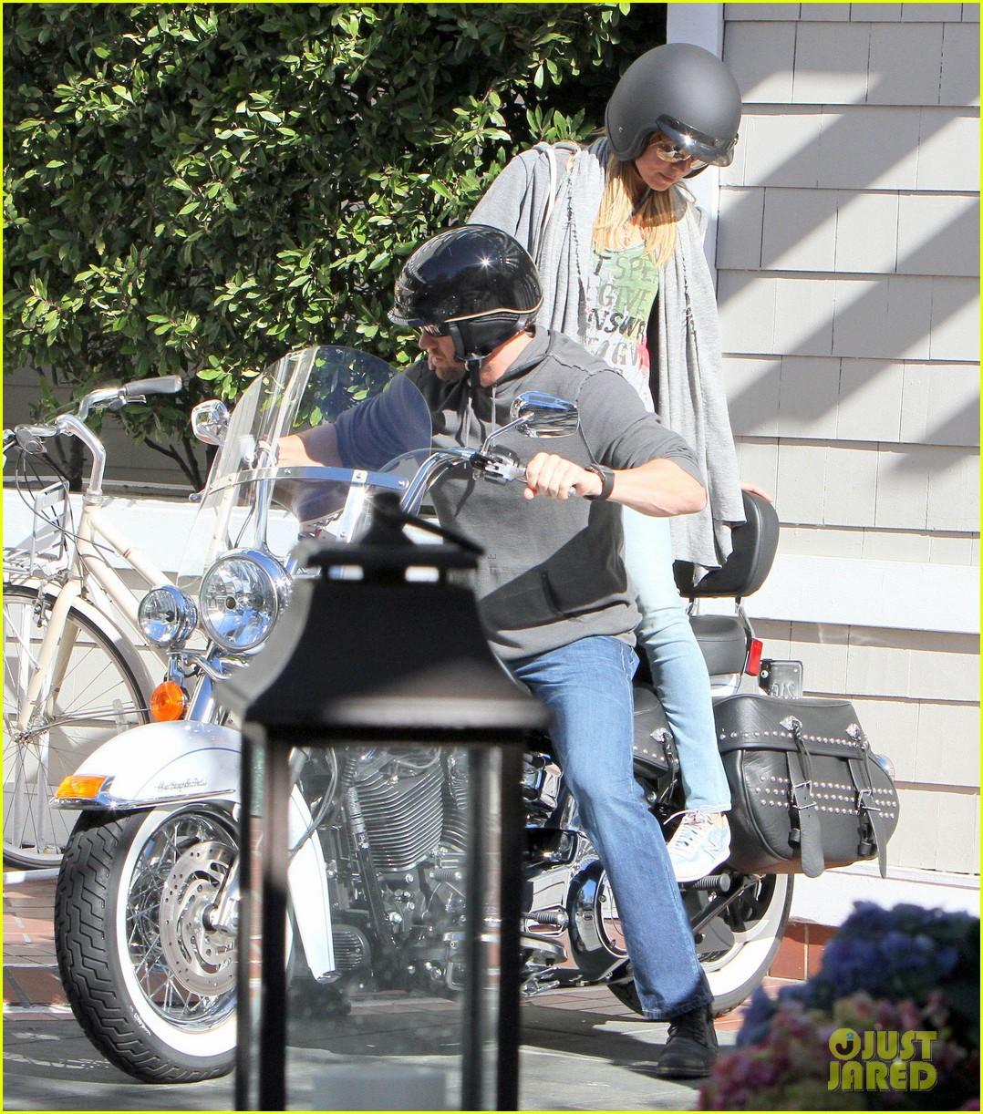heidi klum martin kirsten motorcycle couple 102795651