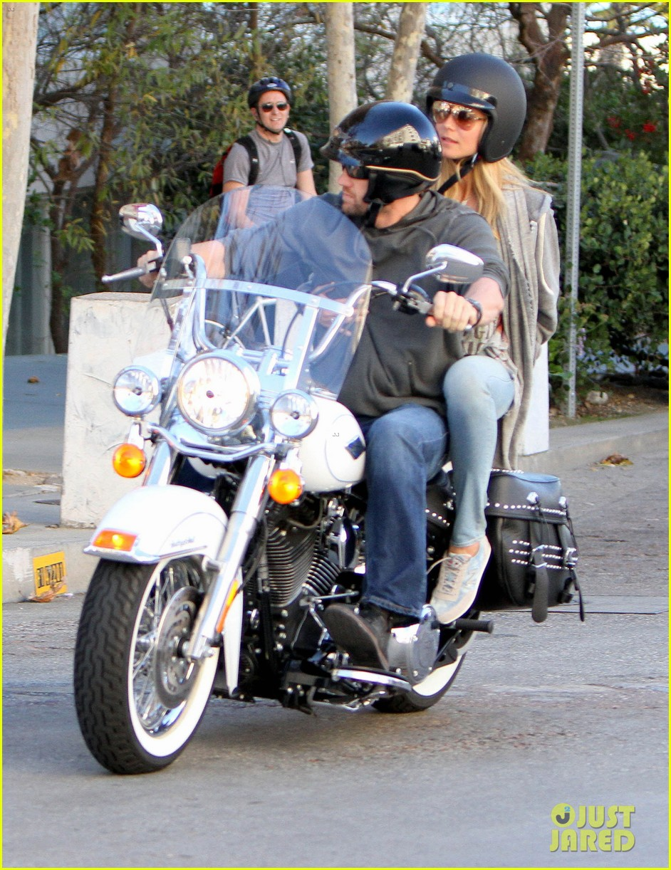 heidi klum martin kirsten motorcycle couple 192795660