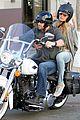 heidi klum martin kirsten motorcycle couple 01