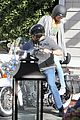 heidi klum martin kirsten motorcycle couple 10