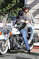 heidi klum martin kirsten motorcycle couple 17