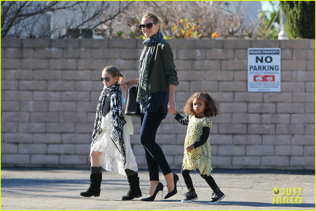 heidi klum martin kirsten lunch shopping with the girls 082784591