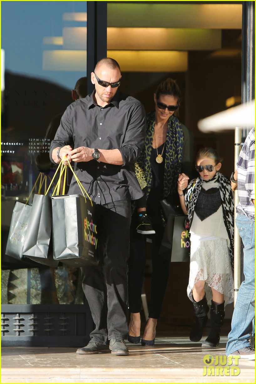 heidi klum martin kirsten lunch shopping with the girls 13