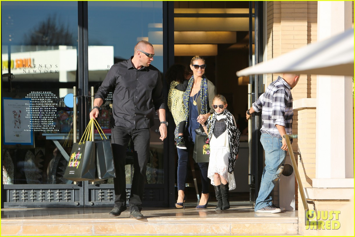 heidi klum martin kirsten lunch shopping with the girls 23