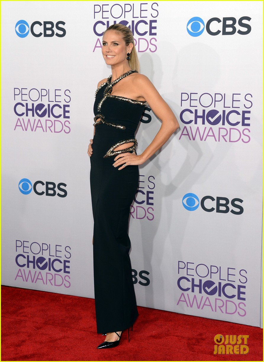 heidi klum peoples choice awards 2013 red carpet 012787777