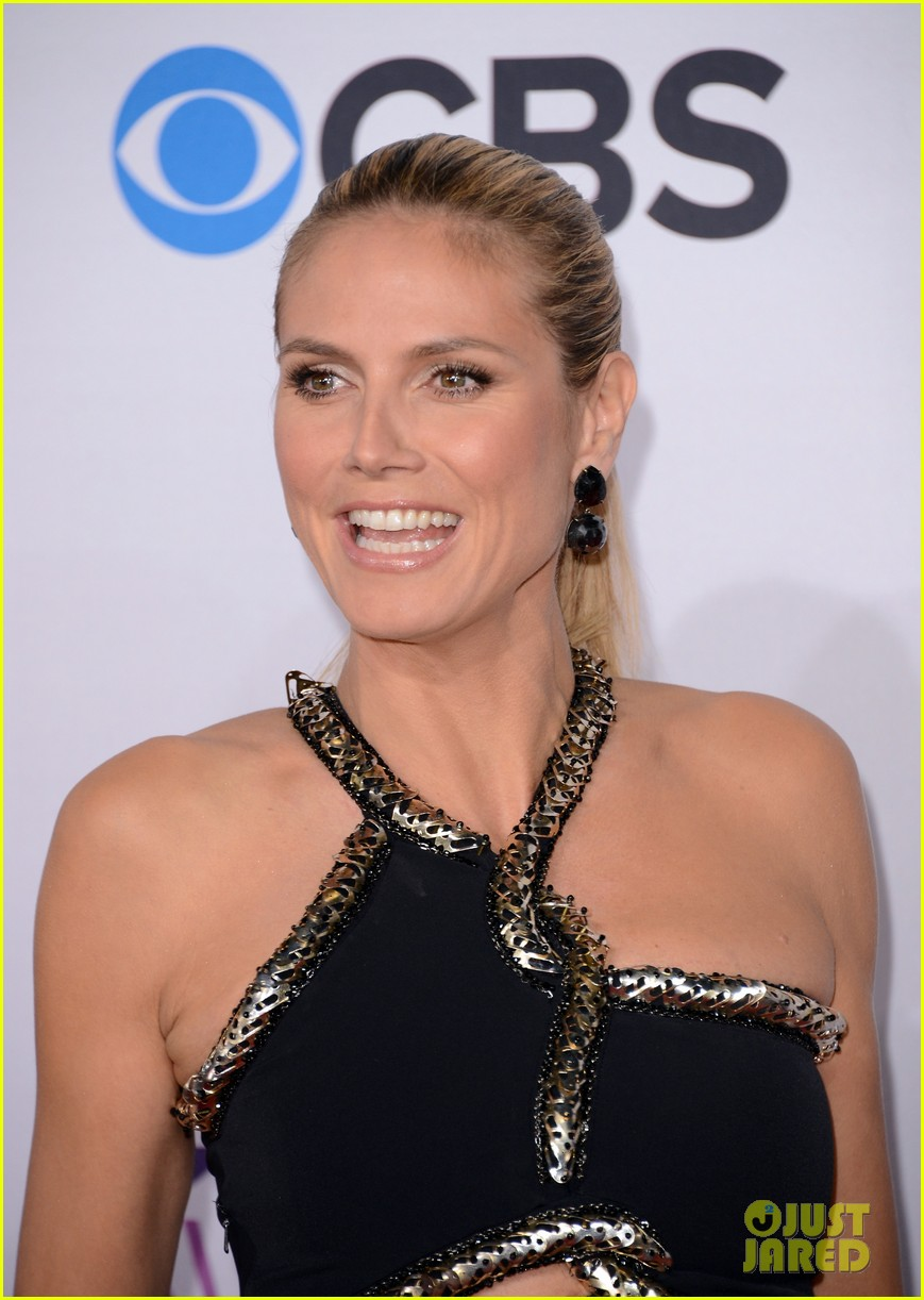 heidi klum peoples choice awards 2013 red carpet 06