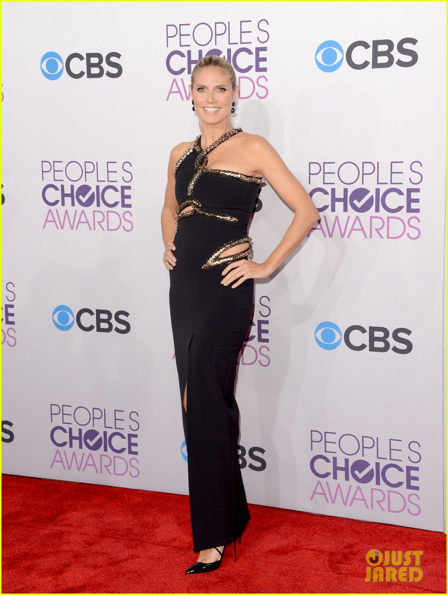 heidi klum peoples choice awards 2013 red carpet 072787783