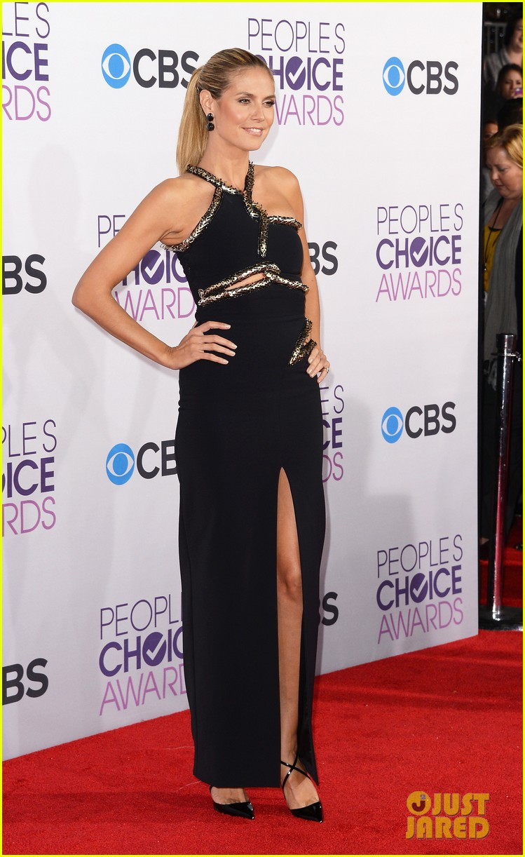 heidi klum peoples choice awards 2013 red carpet 092787785