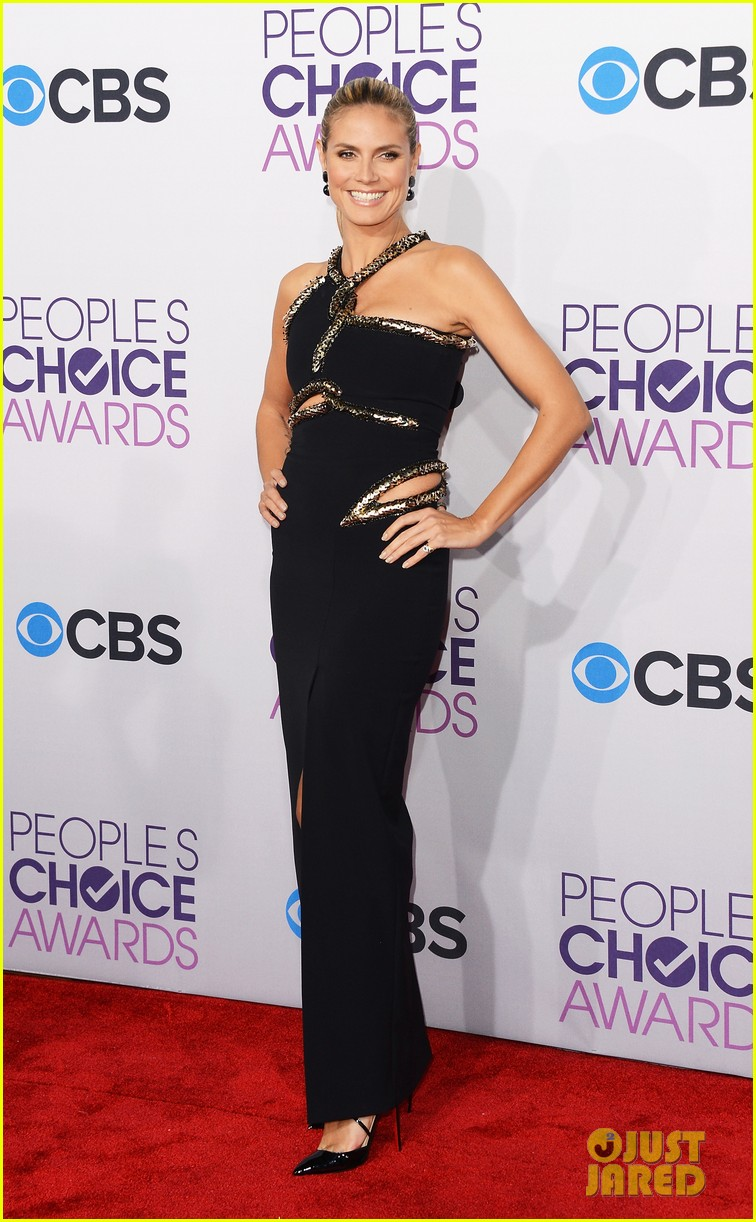 heidi klum peoples choice awards 2013 red carpet 112787787