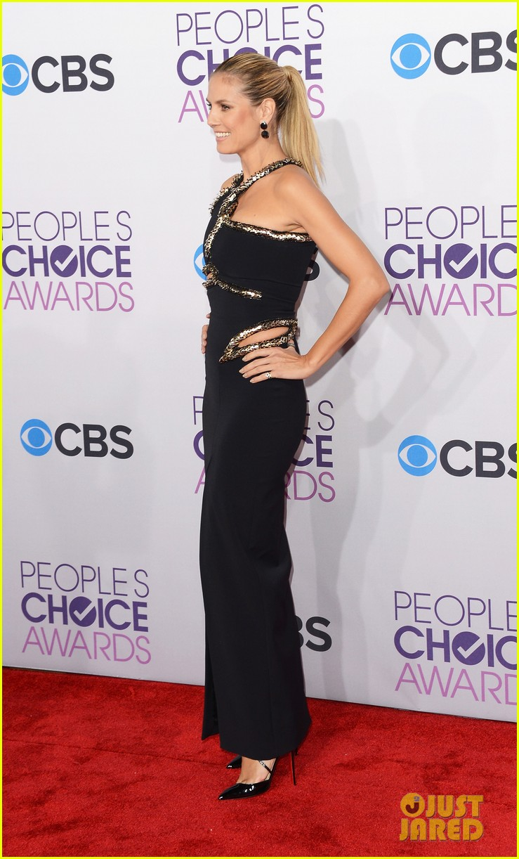 heidi klum peoples choice awards 2013 red carpet 122787788