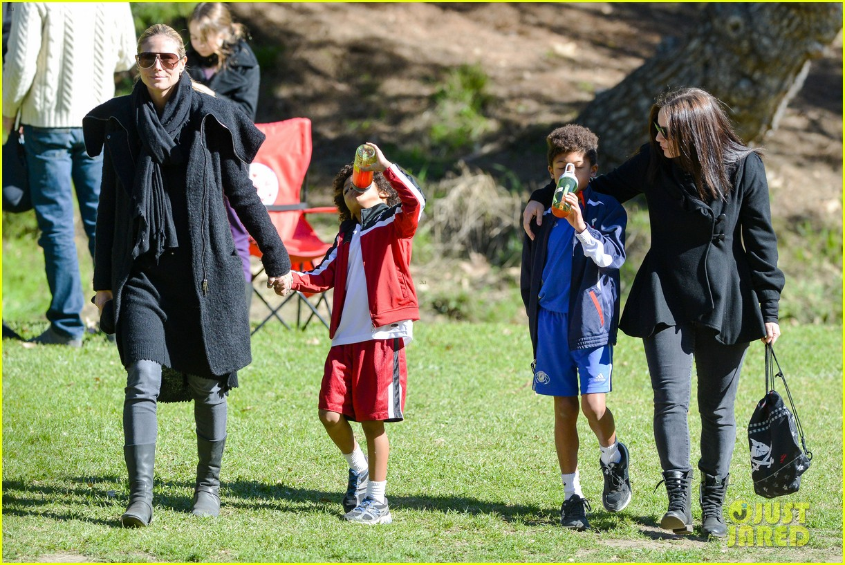 heidi klum satuday soccer game 202790795