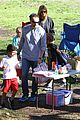 heidi klum martin kirsten swinging saturday with the kids 03