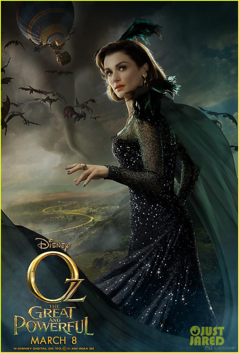 mila kunis michelle williams new oz the great and powerful posters 02