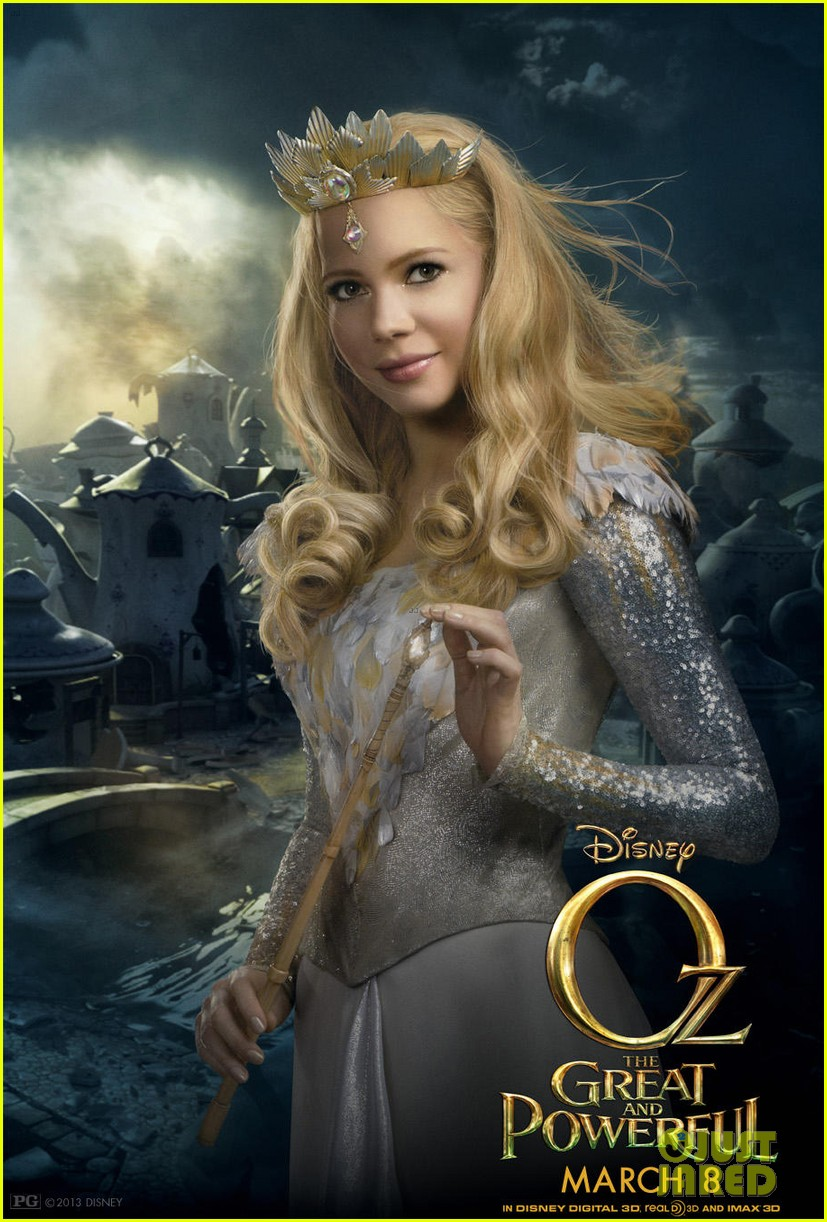 mila kunis michelle williams new oz the great and powerful posters 042800142